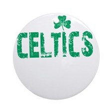 Celtics Thing -dk Round Ornament