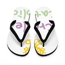 CradleCatholic_both Flip Flops