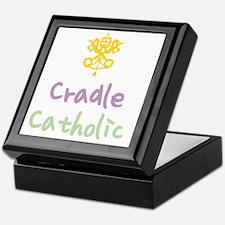 CradleCatholic_both Keepsake Box
