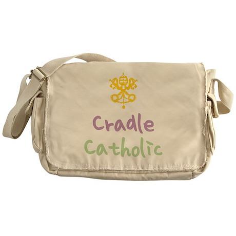 CradleCatholic_both Messenger Bag
