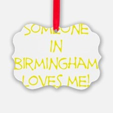 SomeoneInBirminghamYellow Ornament