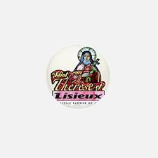 Saint Therese_light Mini Button