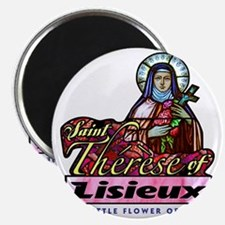 Saint Therese_light Magnet