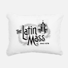 latinmassLight Rectangular Canvas Pillow