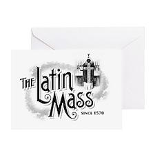latinmassLight Greeting Card