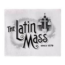 latinmassLight Throw Blanket