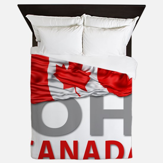 Canada day 02 Queen Duvet