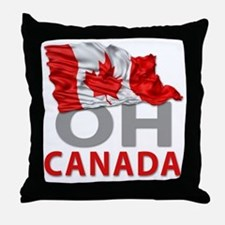 Canada day 02 Throw Pillow