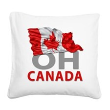 Canada day 02 Square Canvas Pillow