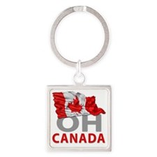 Canada day 02 Square Keychain