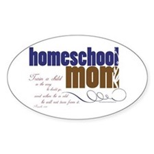 homeschool mom Decal