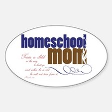 homeschool mom Decal