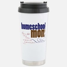 homeschool mom Stainless Steel Travel Mug