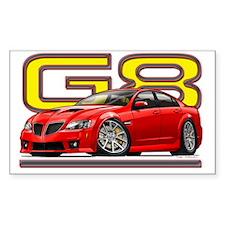 Pontiac_G8_red Decal