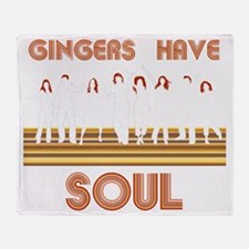 Gingers Have Soul Throw Blanket
