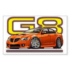 Pontiac_G8_orange Decal