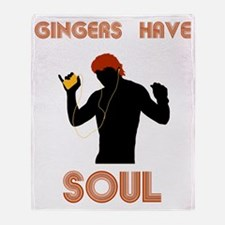 Male Gingers Have Soul Throw Blanket