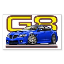 Pontiac_G8_blue Decal