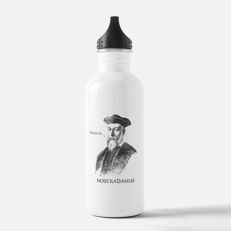 Nostradamus-1 Water Bottle