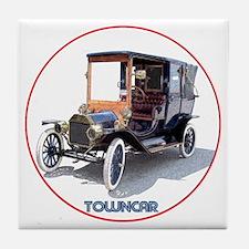 T-towncar-C8trans Tile Coaster