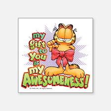 "My Awesomeness Square Sticker 3"" x 3"""
