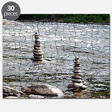 River Cairns Puzzle