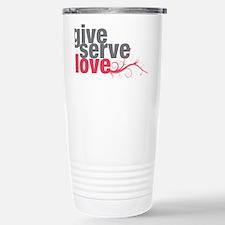 giveserve Stainless Steel Travel Mug