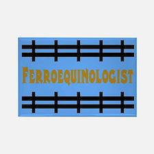 Ferroequinologist Rectanglar Magnet