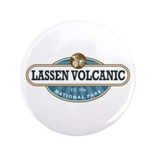 "Lassen Volcanic National Park 3.5"" Button"