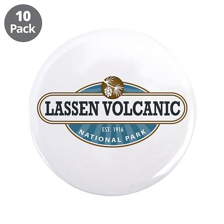 "Lassen Volcanic National Park 3.5"" Button (10 pack"