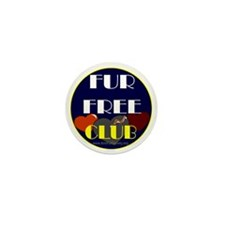 FUR FREE CLUB2 Mini Button