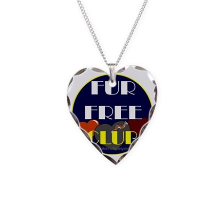 FUR FREE CLUB2 Necklace Heart Charm