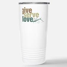 giveserve-earthtones Stainless Steel Travel Mug