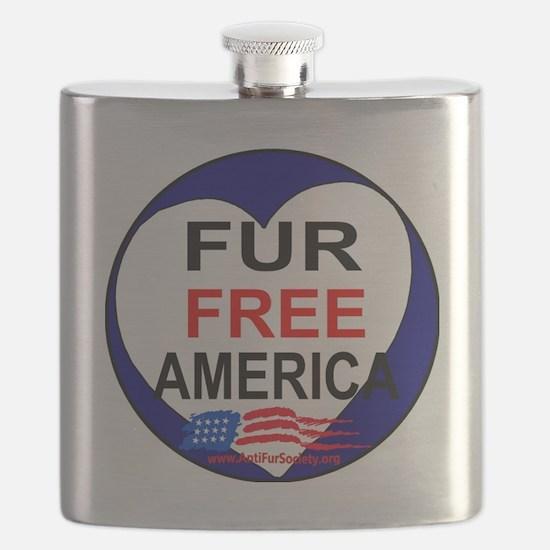 FUR FREE AMERICA2 Flask