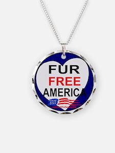 FUR FREE AMERICA2 Necklace