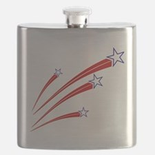 stars and stripes Flask