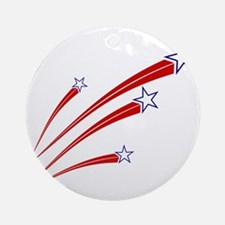 stars and stripes Round Ornament