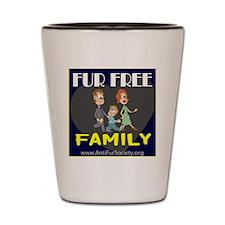 FUR FREE FAMILY Shot Glass
