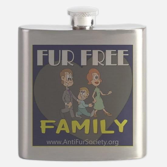 FUR FREE FAMILY Flask