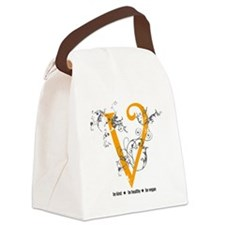 swirl-new Canvas Lunch Bag