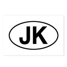 jeep jk Postcards (Package of 8)