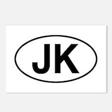 jeep jk Postcards (Package of 8)