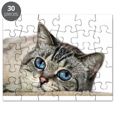 Blue Eyed Cat Puzzle