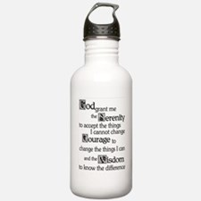 SerenityPrayer Water Bottle