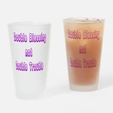 doubleblessing1 Drinking Glass