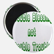 doubleblessing3 Magnet