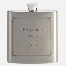 Measure-twice,-cut-once Flask