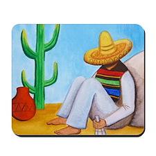 Mexican siesta Mousepad