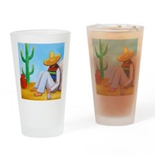 Mexican siesta Drinking Glass