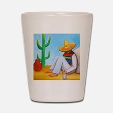 Mexican siesta Shot Glass